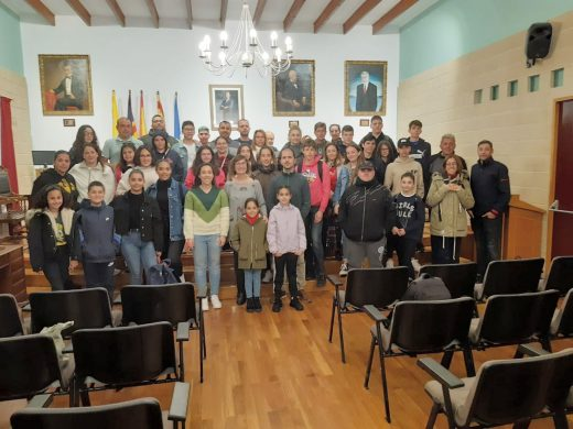 (Fotos) Es Castell y La Frontera, municipios hermanos