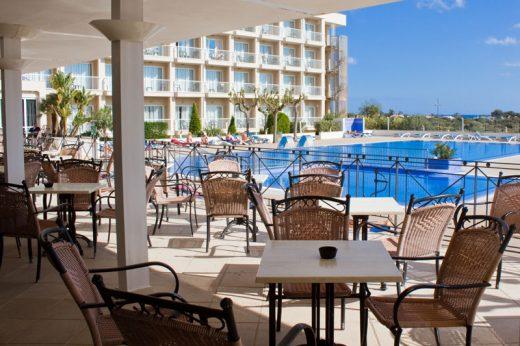 Imagen de la web del Hotel Sur Menorca.
