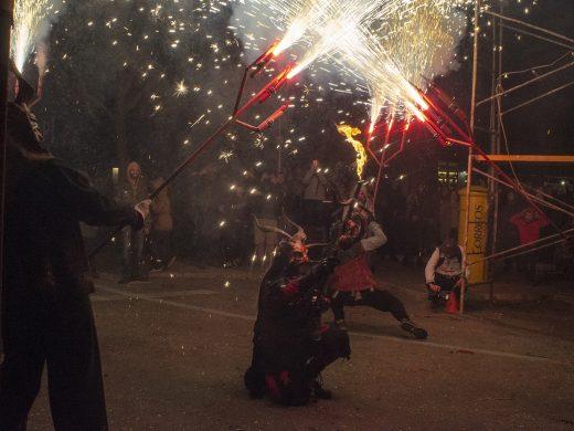 (Fotos) Fuego infernal