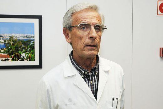 Romà Julià, gerente del Àrea de Salud de Menorca