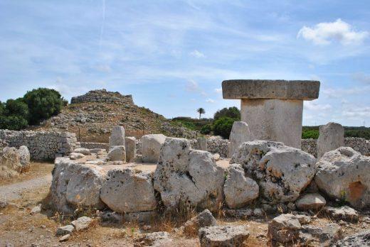 Torralba d'en Salort es uno de los poblados prehistóricos más grandes y espectaculares de Menorca (Foto: EA)