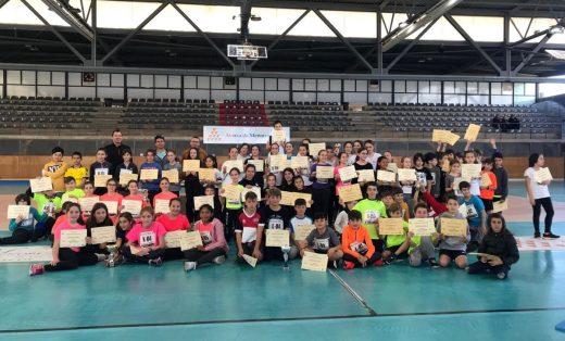 Un centenar de jóvenes deportistas participaron en la final