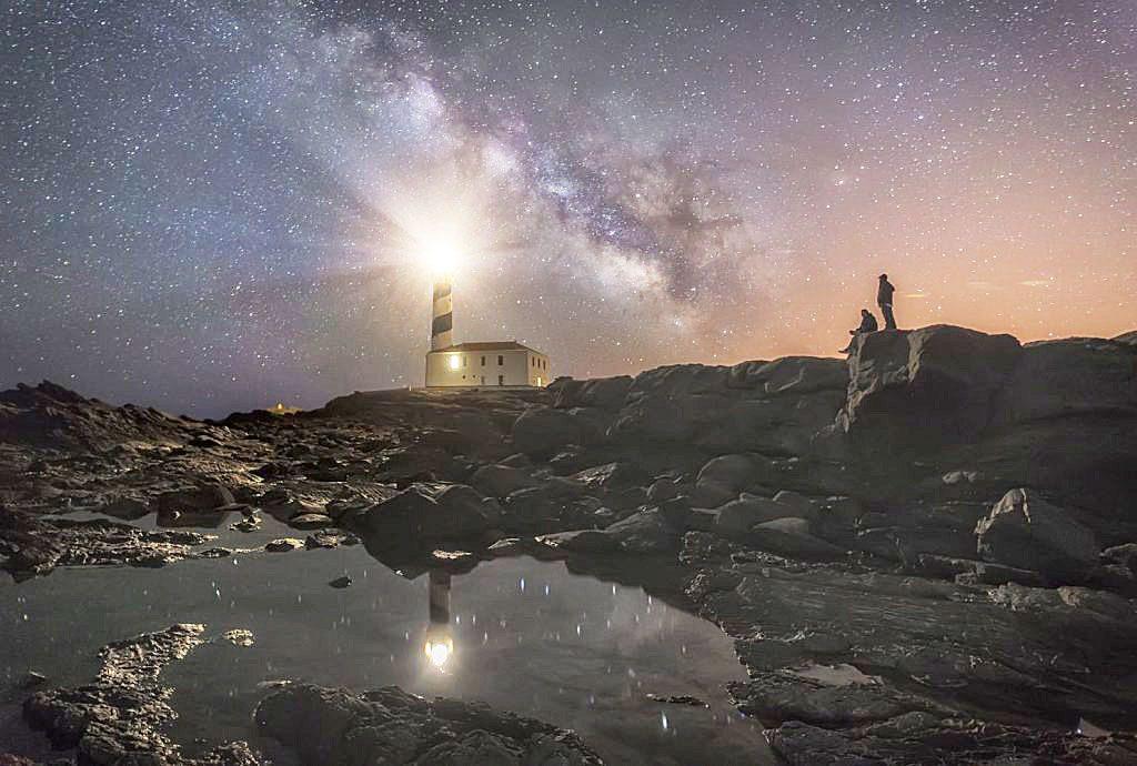 Cielo estrellado en Menorca (Foto: Fundación Starlight)