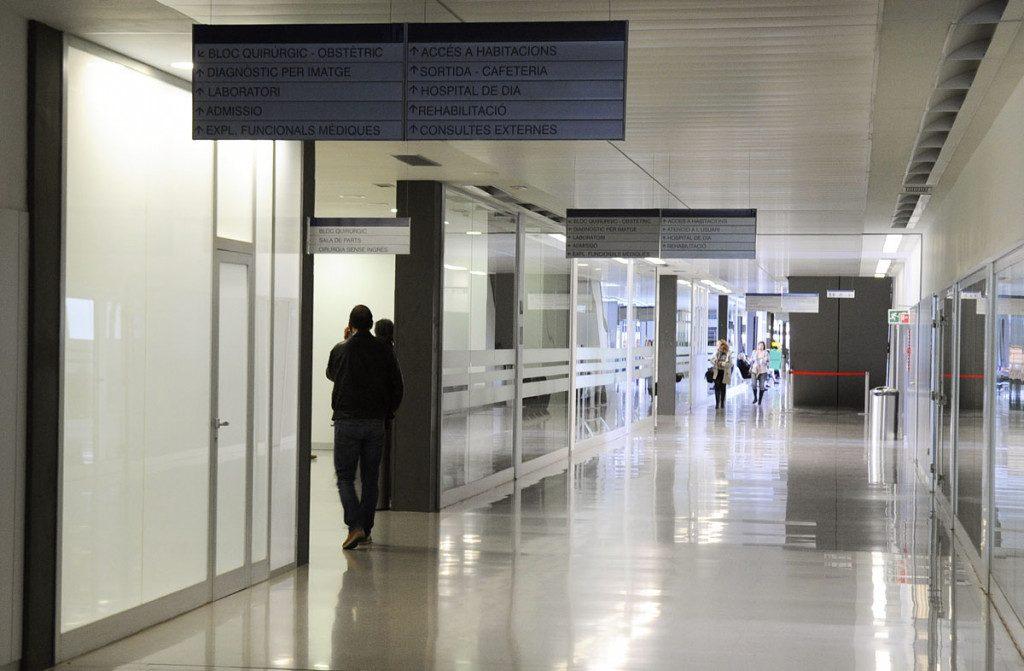 En el Hospital Mateu Orfila hay 18 personas ingresadas por coronavirus