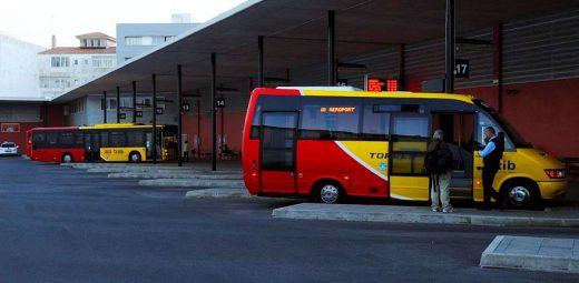 Estación de autobuses.