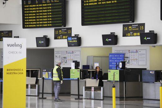La actividad se normaliza en el aeropuerto de Menorca (Foto: T.M.)