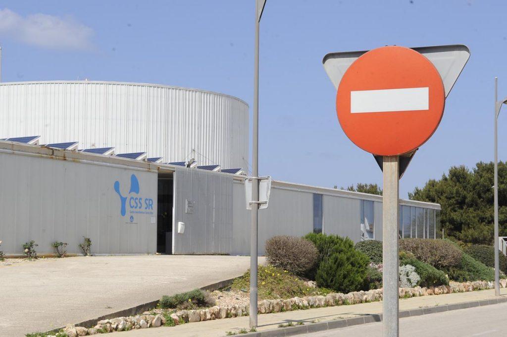 Centro Sociosanitario de Santa Rita en Ciutadella. (Foto:T.M.)