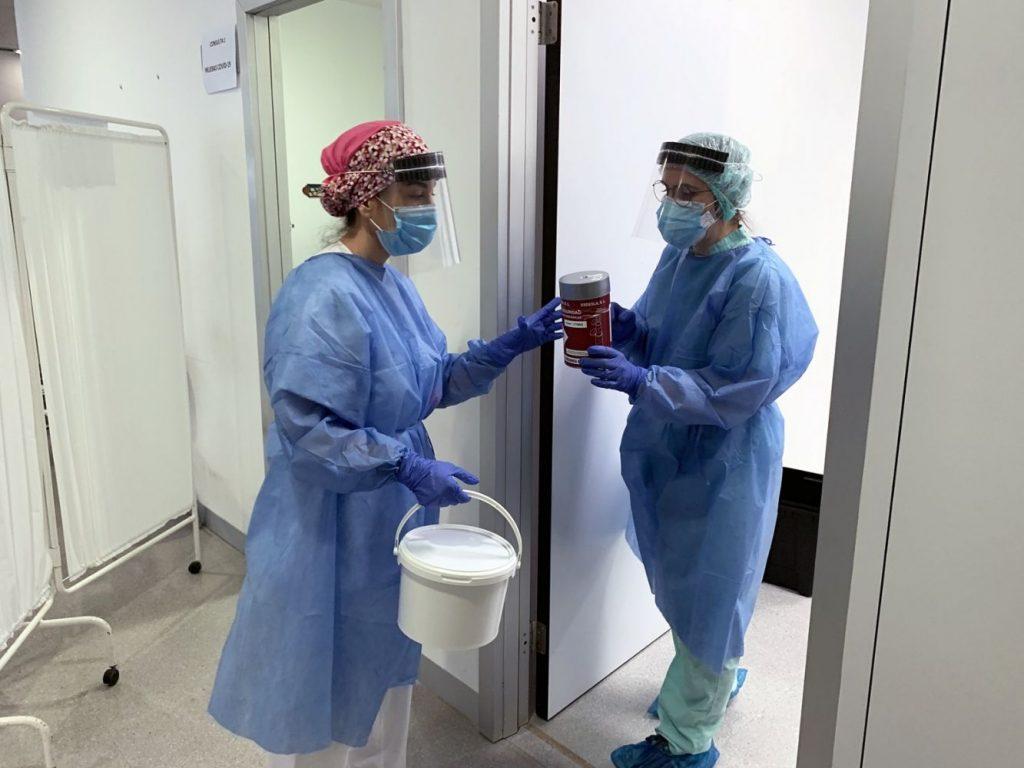En el Hospital solo queda una persona ingresada por Covid (Foto: Área de Salud de Menorca)