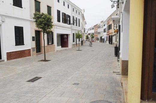 La música llenará las calles de Es Mercadal ahora vacías por el confinamiento