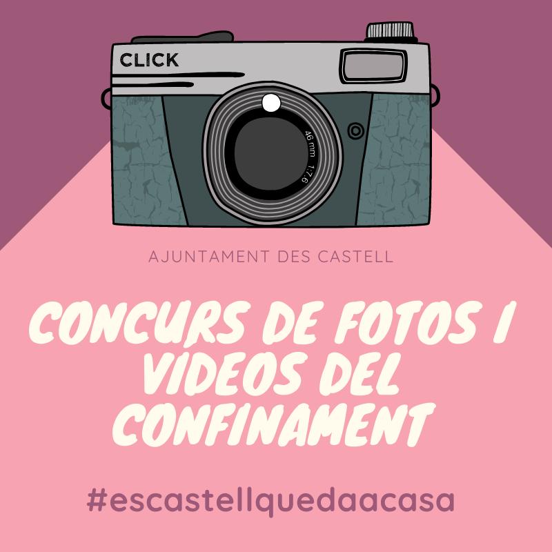 Cartel del concurso organizado en Es Castell