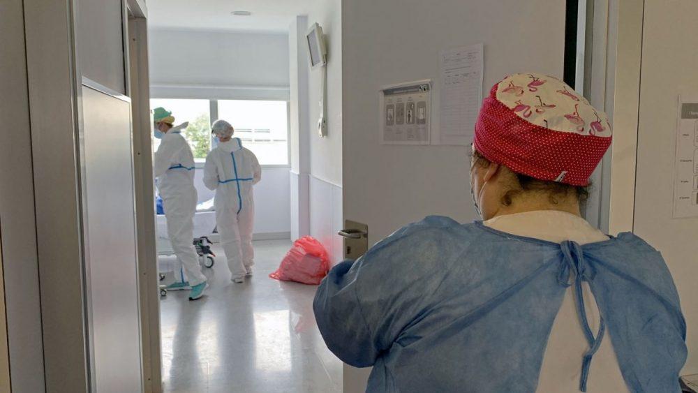 En el Hospital hay 17 pacientes de Covid ingresados, 3 de ellos en la UCI