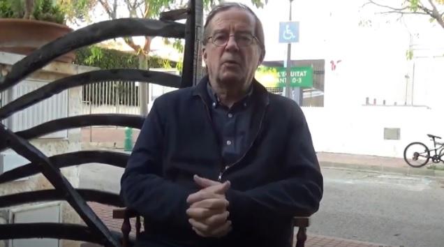 Imagen de Vicenç Arnaiz en el vídeo