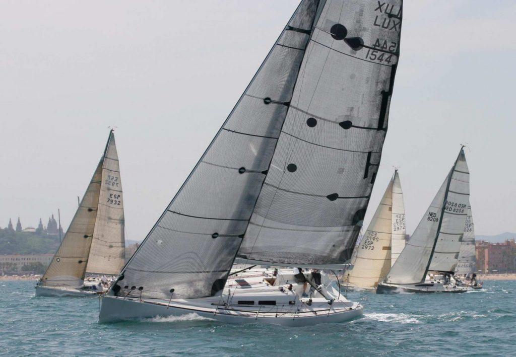 Imagen de archivo de la regata que une Barcelona y Menorca.