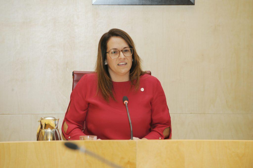 La presidenta del Consell de Menorca, Susana Mora