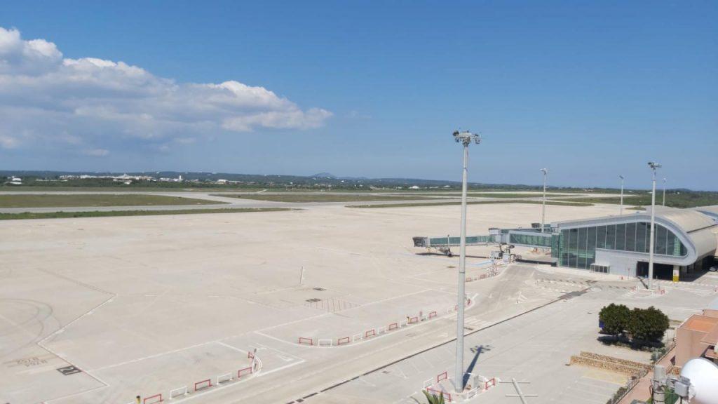 Vista del Aeropuerto de Menorca (Foto: Enaire)