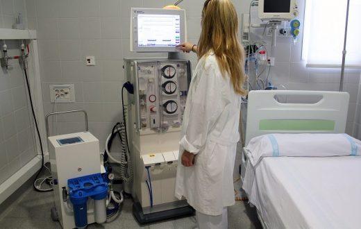 Actualmente su utilizan las dos UCI preparadas para contagiados por el coronavirus