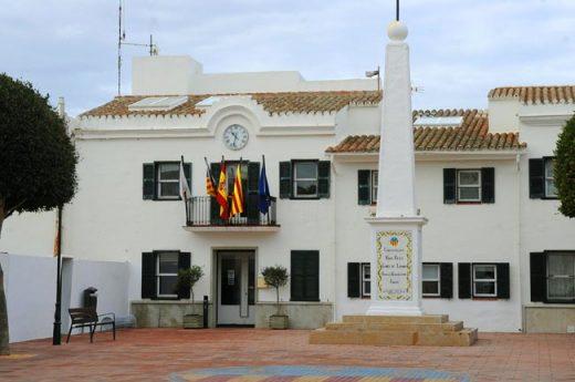 Ajuntament de Sant Lluís.
