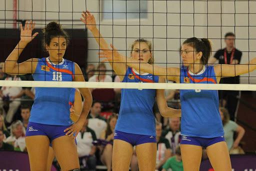 Equipo de voleibol.