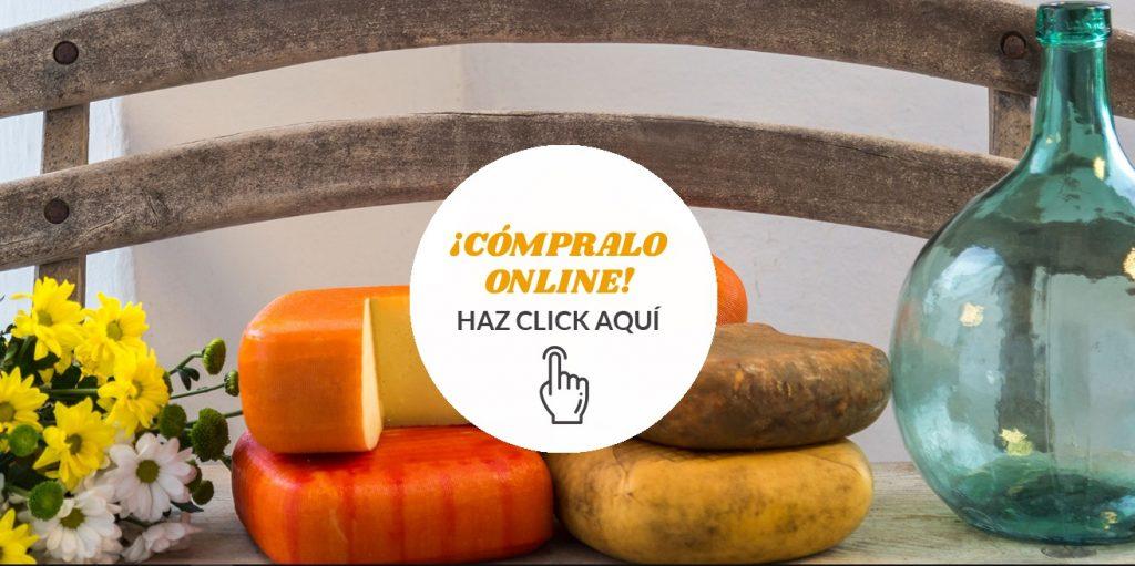 Actualización de la web del queso Mahón-Menorca