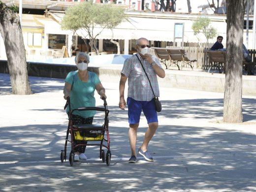 (Fotos) Menorca se pone la mascarilla