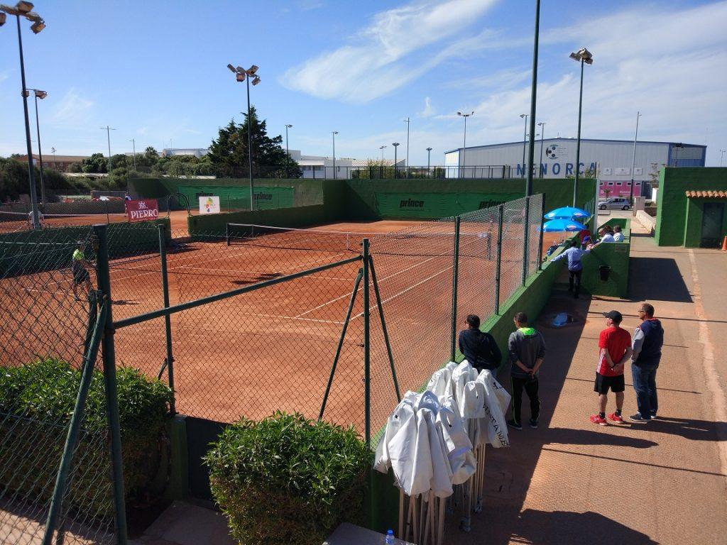 Instalaciones del Club Tenis Mahón.