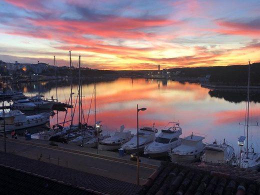 Fotografía del puerto de Maó (Foto: Tolo Mercadal)
