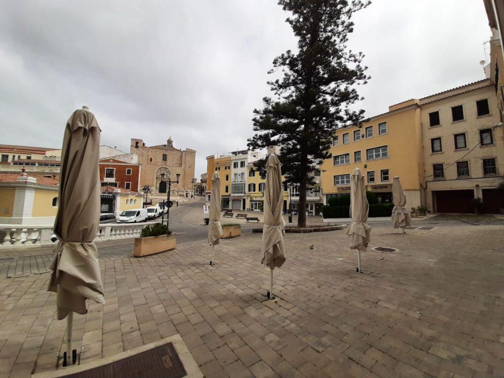 Terrazas en Maó (Foto: Ajuntament de Maó)