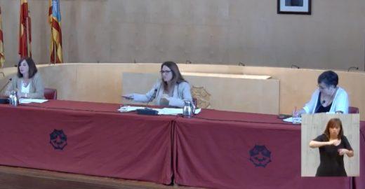 Imagen de la rueda de prensa ofrecida este miércoles en el Consell de Menorca