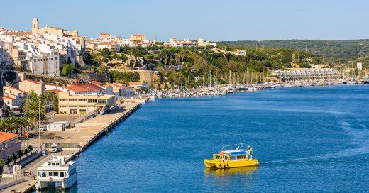 Imagen del puerto de Maó (Foto: Turismo de Menorca)