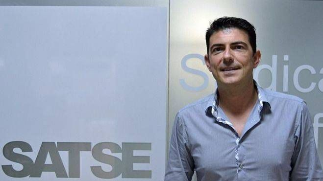 Jorge Tera, tras la entrevista (Foto: Mallorcadiario.com)
