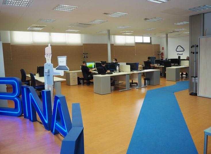 La empresa Binary Menorca en el Centre Bit ubicado en Alaior