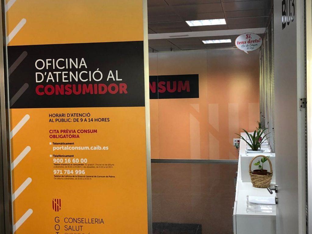 Las oficinas de Consumo de Menorca han atendido 313 consultas