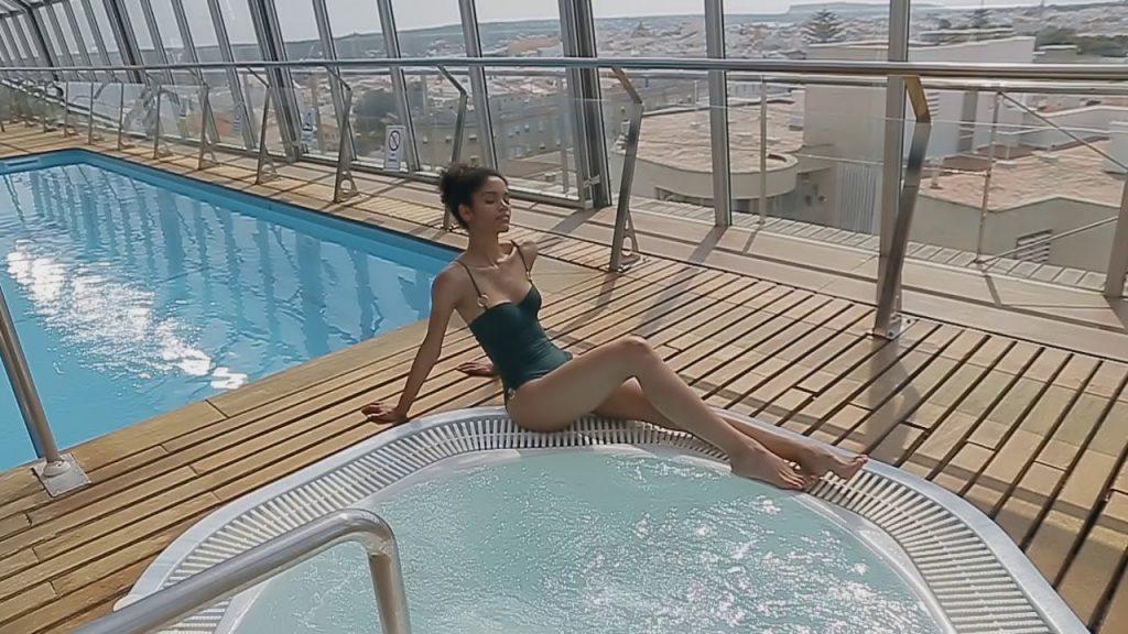 Spa en el Hotel Capri de Maó.