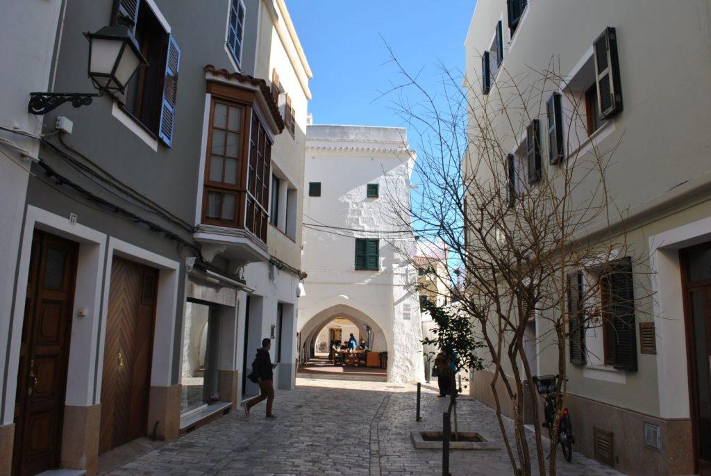 Zona comercial de Ciutadella