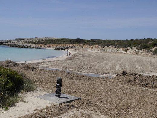 (Fotos) Un día de playa sin bañistas