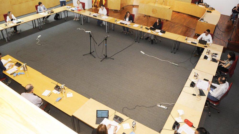 Imagen del Plano del Consell de Menorca