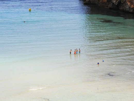 (Fotos) Primer gran día de playa
