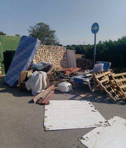 Imagen que presenta el punto de reciclaje.