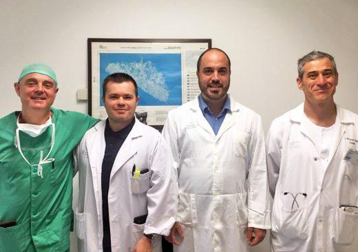 Miembros del equipo médico que trabaja en el nuevo programa