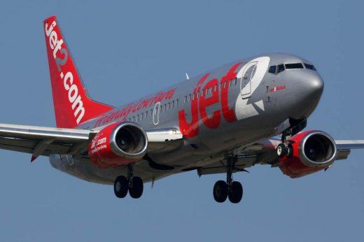 Avión de la compañía Jet2.