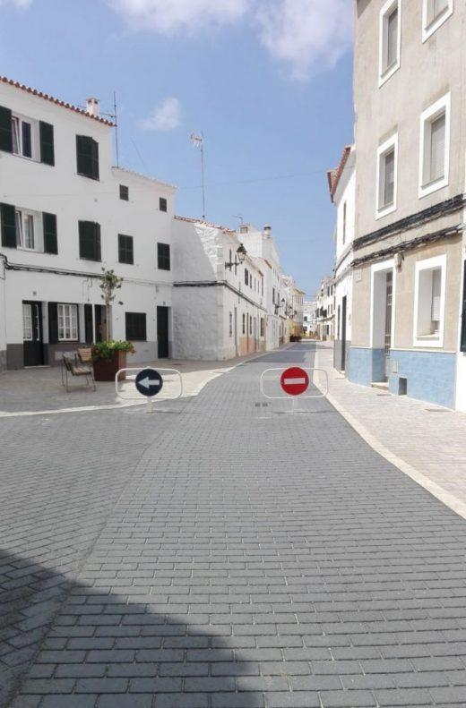 La Calle Major de Es Migjorn Gran ya es peatonal
