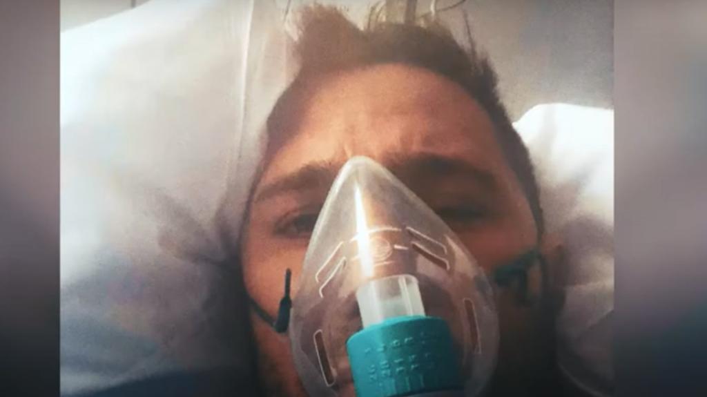 Imagen de uno de los protagonistas del vídeo.