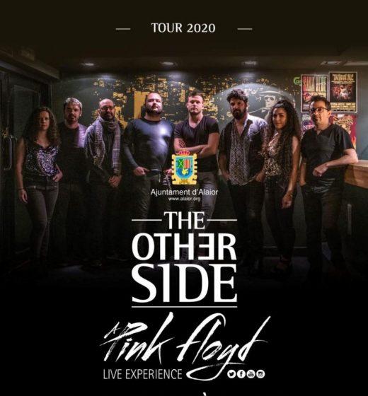 Imagen del cartel del concierto que ofrece The Other Side