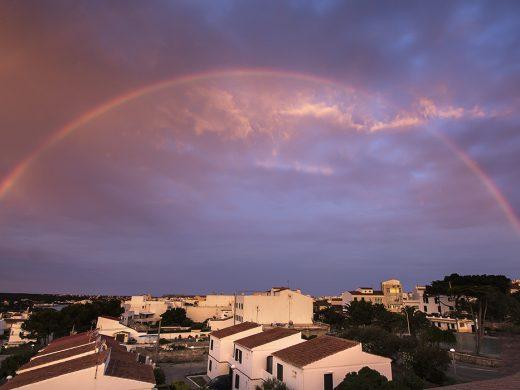 (Fotos) El espectacular atardecer de Menorca