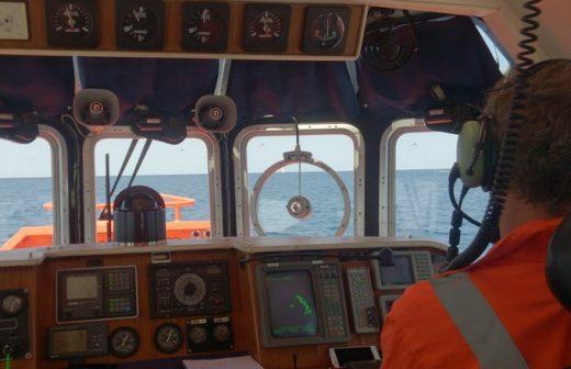 Imagen del remolcador Salvamar Aldebarán.