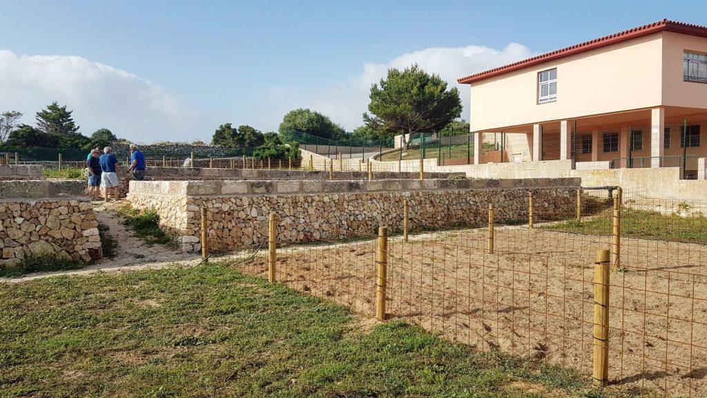 Nueva ubicación de los huertos sociales de Es Castell