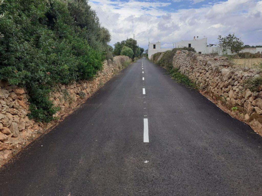 Nueva imagen del camino del Hort de ses Taronges