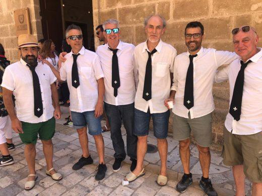 (Fotos y vídeo) Ciutadella ya vive un Sant Joan muy diferente