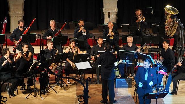 Imagen de una actuación de la Orquestra Simfònica Illes Balears.