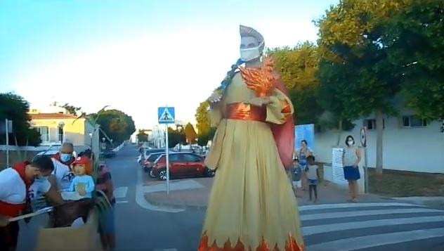 Imagen del vídeo del paseo de Joan Flametes